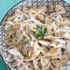 Pasta Tuna, Capers e Cream